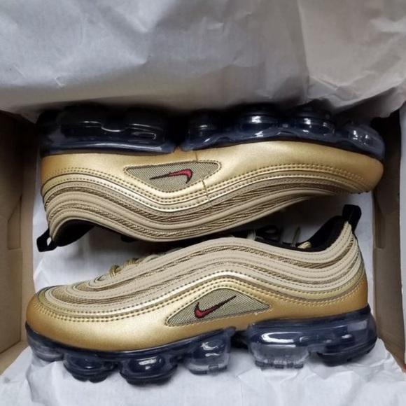 the best attitude 37464 edde0 Nike Vapormax 97 Gold